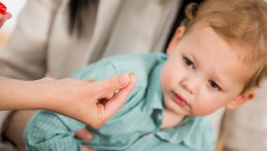 Отравянето на дете с лекарства няма симптоми в началото