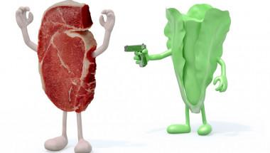 Ето какво ще се случи с тялото ви, ако замените месото със зеленчуци