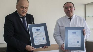 Александровска болница получи сертификат ISO 9001:2008 за качество на медицинските услуги