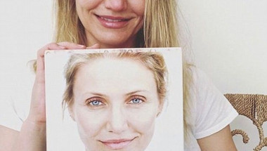 Камерън Диас без грим: Искам всички да остаряваме красиво