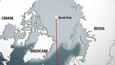 НАСА: Северният полюс се движи на юг по меридиана на Гринуич