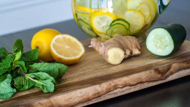 Изчистете тялото си от токсини само с лимон, джинджифил и краставица!