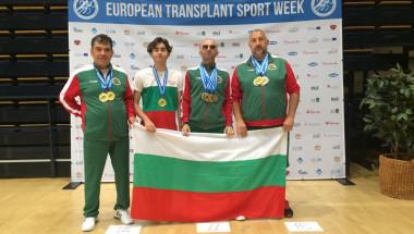 Четирима трансплантирани спечелиха 14 медала