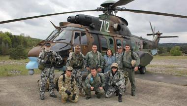 Екипи на ВМА тренират авиоевакуация в Германия