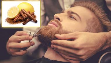 Канела и лимон за сгъстяване на брадата