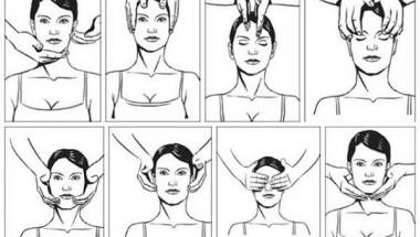 Лесен аюрведичен масаж на лицето за красота и тонус