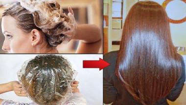 Нанесете тази маска на косата си и изчакайте 15 минути - ефектът ще ви зашемети!