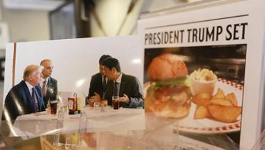 Тръмп измисли начин да яде бургери, докато е на диета