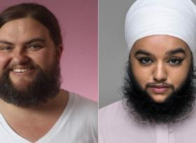 Жени с бради, на какво се дължи? (СНИМКИ)