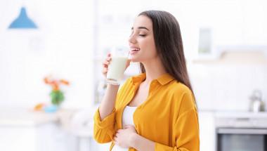 Прясно мляко  с мента срещу чревни паразити