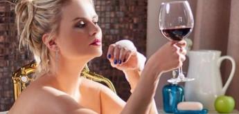 Как се променя тялото, ако се мием 1 седмица с вино