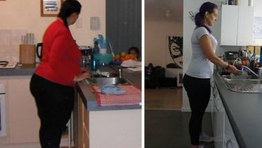 Минус 70 кг: Taзи жена загуби тегло, премахвайки само четири продукта от менюто си (СНИМКИ)