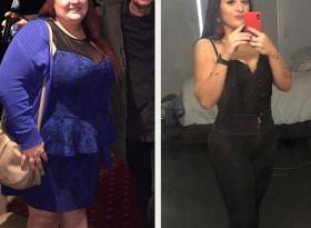 Тя тежеше 160 кг и живееше на бургери и кола! Сега е 65 кг и е по-секси от всякога (СНИМКИ)