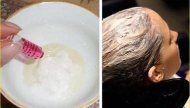 Най-мощната домашна маска за растеж на косата