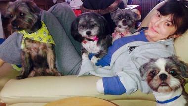 Кучето на Кристин я захапа леко, амптуриха й краката и ръка