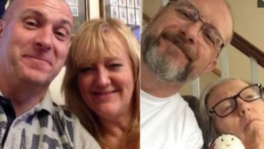 Мъж показа на СНИМКИ как деменцията за 4 години промени съпругата му