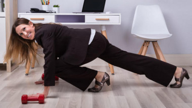 Лесна гимнастика в офиса
