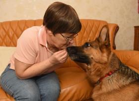 Кучета започнаха да се държат странно със стопанката си и ѝ спасиха живота СНИМКИ