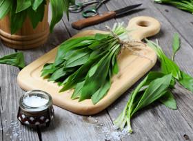 Дивият чесън - естествен витамин С