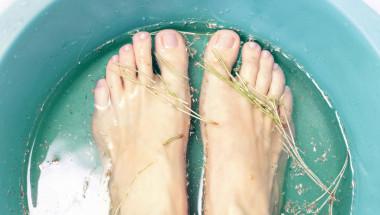 Ваните на краката не са подходящи при гъбички