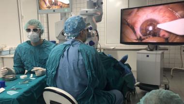 Д-р Йордан Андреев: Използваме най-модерната машина в света за премахване на перде