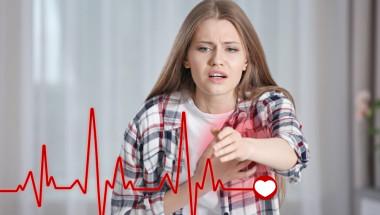 На какво се дължи учестеното сърцебиене през нощта?