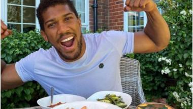 Диетата на Антъни Джошуа: как се храни професионален боксьор в тежка категория