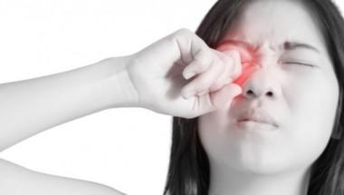 Най-редкият симптом на К-19 е конюктивит