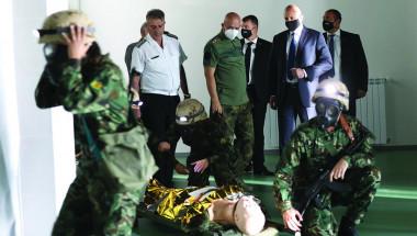 Откриха уникален Военномедицински тренировъчен център